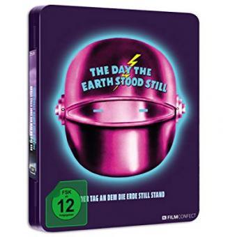Der Tag, an dem die Erde stillstand (Limited Steel-Edition) (1951) [Blu-ray]