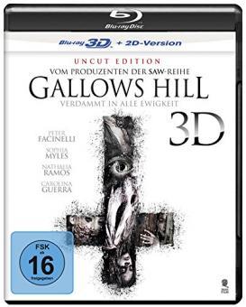 Gallows Hill - Verdammt in alle Ewigkeit (Uncut) (2013) [3D Blu-ray]