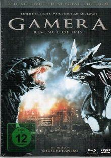 Gamera - Revenge of Iris (2 DVDs + Blu-ray, Mediabook) (1999) [Blu-ray]