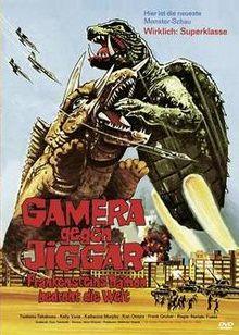 Gamera gegen Jiggar - Frankensteins Dämon bedroht die Welt (1982) [FSK 18]