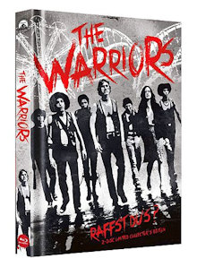 The Warriors (Limited Mediabook, Blu-ray+DVD, Cover B) (1979) [Blu-ray]