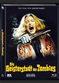 Die Geisterstadt der Zombies (Limited Mediabook, Blu-ray+DVD, Cover C) (1981) [FSK 18] [Blu-ray]