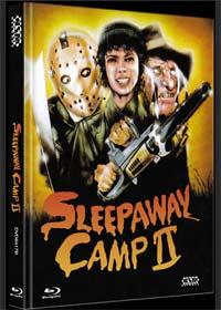 Das Camp des Grauens 2 - Sleepaway Camp 2 (Limited Mediabook, Blu-ray+DVD, Cover B) (1988) [FSK 18] [Blu-ray]