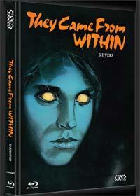 Shivers - Der Parasitenmörder (Limited Mediabook, Blu-ray+DVD, Cover D) (1975)