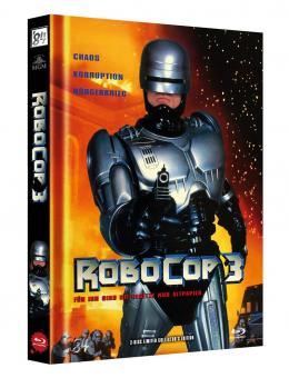 Robocop 3 (Limited Mediabook, Blu-ray+DVD, Cover A) (1993) [Blu-ray]