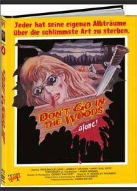 Ausflug in das Grauen - Don't go in the Woods...alone! (Limited Mediabook, Blu-ray+DVD, Cover B) (1982) [FSK 18] [Blu-ray]