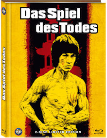 Bruce Lee - Das Spiel des Todes (Limited Mediabook, Blu-ray+DVD, Cover B) (1978) [FSK 18] [Blu-ray]
