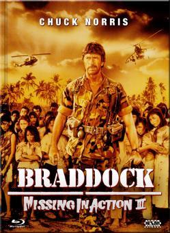 Missing in Action III - Braddock (Limited Mediabook, Blu-ray+DVD, Cover C) (1988) [FSK 18] [Blu-ray]