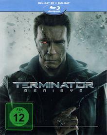 Terminator: Genisys (Limited Steelbook, 3D Blu-ray+Blu-ray) (2015) [3D Blu-ray]