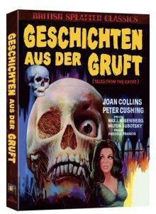 Geschichten aus der Gruft (Mediabook, Blu-ray+DVD) (1972) [FSK 18] [Blu-ray]
