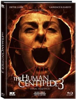 The Human Centipede 3 - Final Sequence (Limited Mediabook, Blu-ray+DVD, Cover B) (2015) [FSK 18] [Blu-ray]