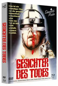 Gesichter des Todes - Faces of Death (Limited Mediabook, Blu-ray+DVD, Cover A) (1978) [FSK 18] [Blu-ray]