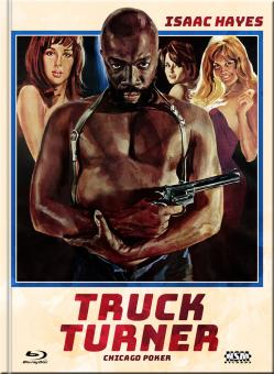Truck Turner (Chicago Poker) (Limited Mediabook, Blu-ray+DVD, Cover D) (1974) [Blu-ray]