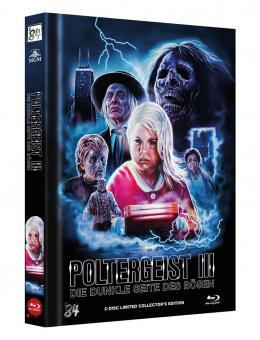 Poltergeist 3 - Die dunkle Seite des Bösen (Limited Mediabook, Blu-ray+DVD, Cover C) (1987) [Blu-ray]