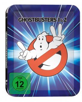 Ghostbusters I & II (Limited Steelbook) (1984) [Blu-ray]