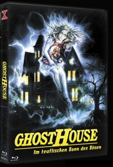 Ghosthouse (Limited Mediabook, Blu-ray+DVD, Cover A) (1988) [FSK 18] [Blu-ray]