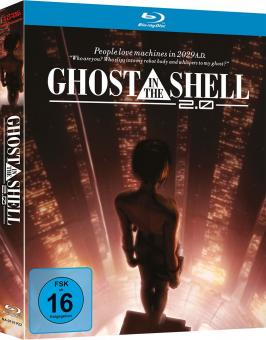 Ghost in the Shell 2.0 (Mediabook) (2008) [Blu-ray]