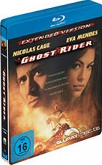 Ghost Rider - Extended Version (Steelbook) (2007) [Blu-ray]