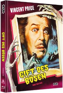 Das Gift des Bösen (Limited Mediabook, Blu-ray+DVD, Cover A) (1963) [Blu-ray]