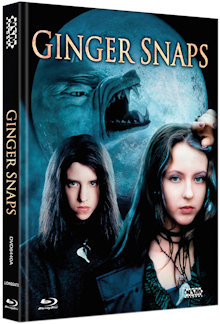 Ginger Snaps - Das Biest in Dir (Limited Mediabook, Blu-ray+DVD, Cover A) (2000) [FSK 18] [Blu-ray]