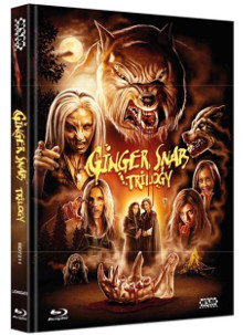 Ginger Snaps 1-3 (Limited Mediabook, 3 Discs) [FSK 18] [Blu-ray]