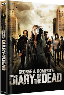 Diary of the Dead (Limited Mediabook, Cover B) (2007) [FSK 18] [Blu-ray]