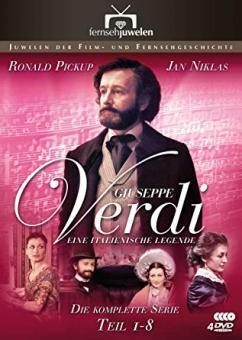 Giuseppe Verdi - Eine italienische Legende: Teil 1-8 (4 DVDs) (1982) [Gebraucht - Zustand (Sehr Gut)]