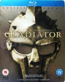 Gladiator (Limited 2 Disc Extended Edition im Steelbook) (2000) [UK Import mit dt. Ton] [Blu-ray]