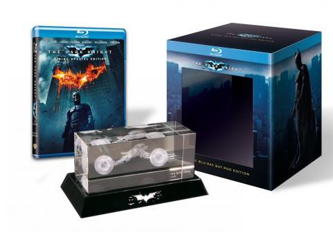 Batman - The Dark Knight (2 Discs, Collector's Edition inklusive Batpod aus Glas) (2008) [Blu-ray]