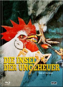 Die Insel der Ungeheuer (Limited Mediabook, Blu-ray+DVD, Cover D) (1976) [Blu-ray]