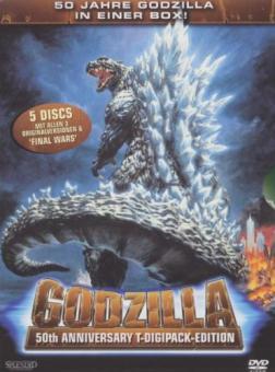Godzilla - 50th Anniversary T-Digi-Pak Edition (5 DVDs)