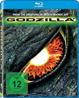 Godzilla (1998) [UK Import mit dt. Ton] [Blu-ray]