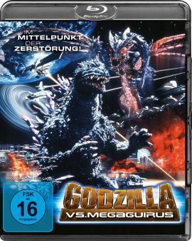 Godzilla vs. Megaguirus (2000) [Blu-ray]