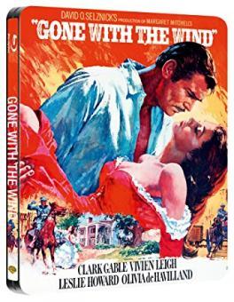 Vom Winde verweht - Gone With The Wind (Limited Steelbook) (1939) [UK Import mit dt. Ton] [Blu-ray]