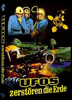 Ufos zerstören die Erde (Limited Mediabook, Cover A) (1962) [Blu-ray]