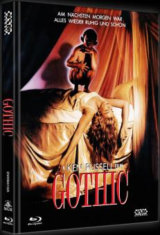 Gothic (Limited Mediabook, Blu-ray+DVD, Cover A) (1986) [Blu-ray]