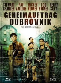 Geheimauftrag Dubrovnik (Limited Mediabook, Blu-ray+DVD, Cover C) (1964) [Blu-ray]