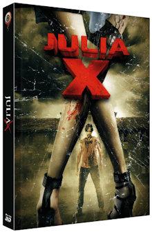Julia X (Limited Mediabook, Ungekürzte Fassung, 2D/3D Blu-ray+DVD, Cover C) (2010) [FSK 18] [3D Blu-ray]