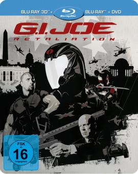 G.I. Joe: Die Abrechnung (3D Blu-ray+Blu-ray+DVD) (Limited Steelbook) (2013) [3D Blu-ray]