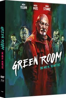 Green Room (Limited Mediabook, Blu-ray+DVD, Cover B) (2015) [FSK 18] [Blu-ray]