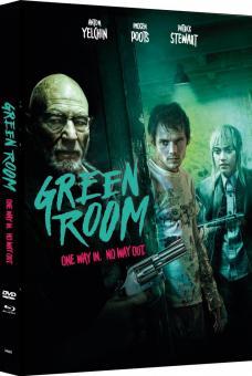 Green Room (Limited Mediabook, Blu-ray+DVD, Cover C) (2015) [FSK 18] [Blu-ray]