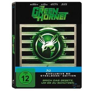 The Green Hornet (Limited Steelbook, Erstauflage) (2011) [Blu-ray]