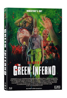 The Green Inferno (Director's Cut) (Limited Mediabook, Blu-ray+DVD, Cover A) (2013) [FSK 18] [Blu-ray]