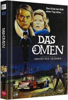 Das Omen (Limited Mediabook, Blu-ray+DVD, Cover B) (1976) [Blu-ray]