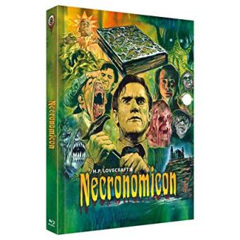 H.P. Lovecraft's Necronomicon (3 Disc Limited Mediabook, Blu-ray+2 DVDs, Cover C) (1993) [FSK 18] [Blu-ray]
