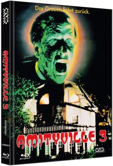 Amityville Horror 3 (Limited Mediabook, Blu-ray+DVD, Cover C) (1983) [FSK 18] [Blu-ray]