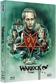 Warlock Trilogie (Limited Mediabook, 3 Discs, Cover C) [Blu-ray]