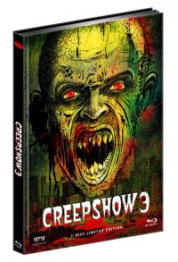 Creepshow 3 (Limited Mediabook, Blu-ray+DVD, Cover D) (2006) [FSK 18] [Blu-ray]