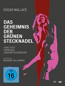 Das Geheimnis der grünen Stecknadel (Limited Mediabook, 2 Blu-rays+DVD) (1972) [FSK 18] [Blu-ray]