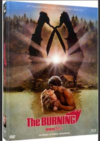 The Burning - Brennende Rache (Limited Mediabook, Blu-ray+DVD, Cover C) (1981) [FSK 18] [Blu-ray]